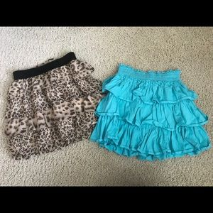 Other - Lot of 2 Girls Skirts